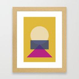 Cirkel is my friend V5 Framed Art Print