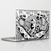 potato Laptop & iPad Skins featuring Mashed potato by Brabs