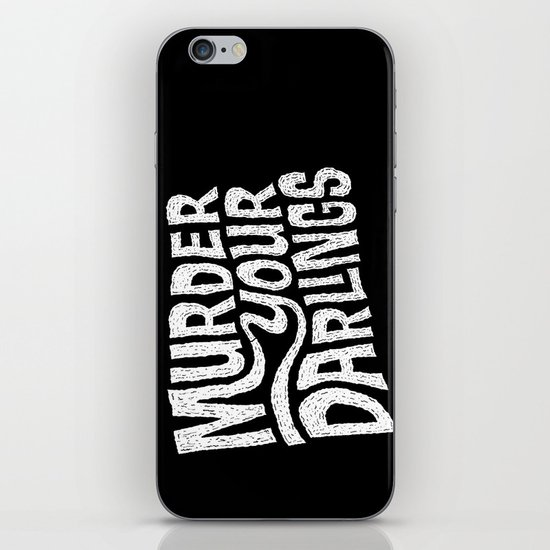 Murder Your Darlings iPhone & iPod Skin