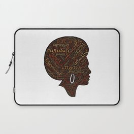 afro american Laptop Sleeve