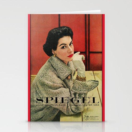 1953 Fall/Winter Catalog Stationery Cards