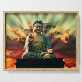 Buddha Sunrise Serving Tray