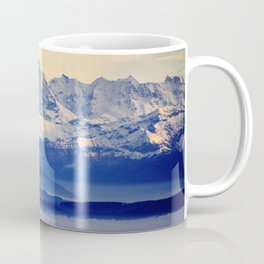 Alps from Jura Coffee Mug