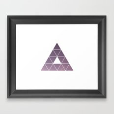 Pyramid Starry Sky Framed Art Print