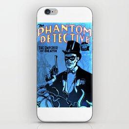 PHANTOM DETECTIVE- MIDNIGHT CITY - GMB CHOMICHUK iPhone Skin