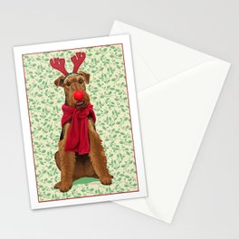 Rudolph the Welsh Terrier Stationery Cards