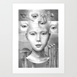 anthem for a seventeen year old series n2 Art Print