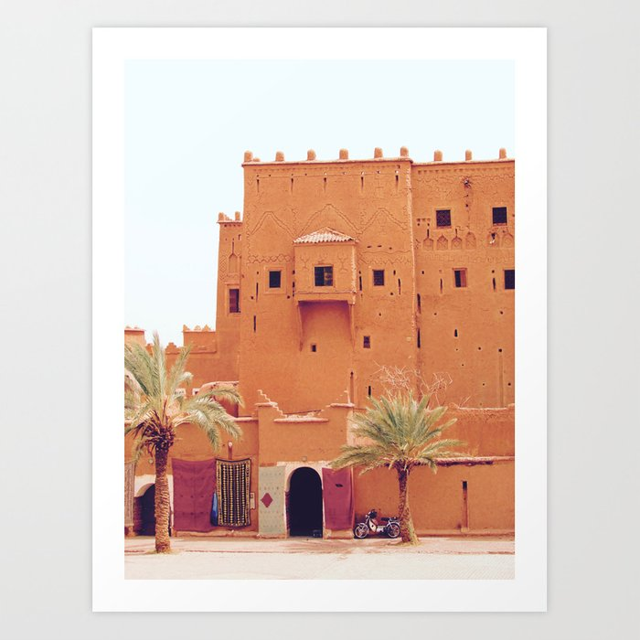 Moroccan Dreams Art Print
