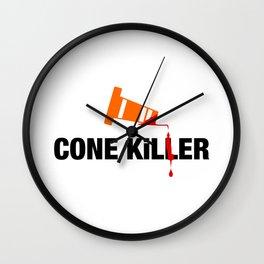 Cone Killer v2 HQvector Wall Clock
