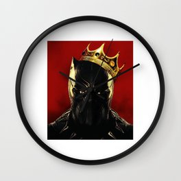 Black Panther notorious Wall Clock