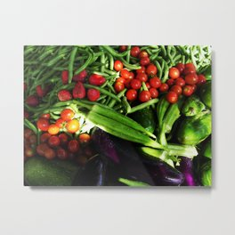 Harvest Blend Metal Print