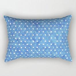 Indigo Blue Twenty Nine Rectangular Pillow