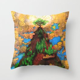 Top of the Rock Throw Pillow