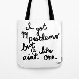 99 likes Tote Bag
