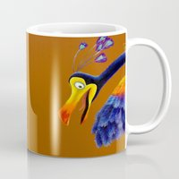 kevin russ Mugs featuring Kevin by Shannon Gordy