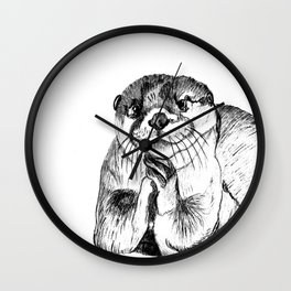 Otterly adorable Wall Clock