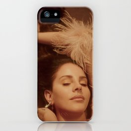 Smack dab in the middle of Hollyweird iPhone Case