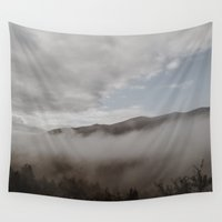 fog Wall Tapestries featuring Fog by Bor Cvetko