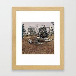 The Undefeated Chump Framed Art Print