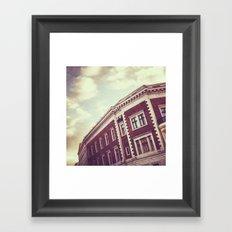 Riga Rooftops Framed Art Print