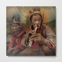 Banaue, Ifugao, Philippines Metal Print
