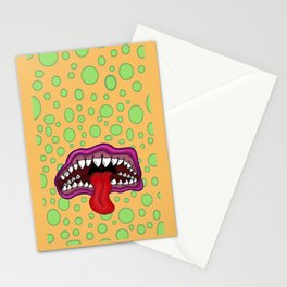 Monster Mouth Stationery Cards