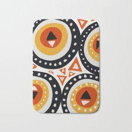 African Abstract Art Pattern Bath Mat