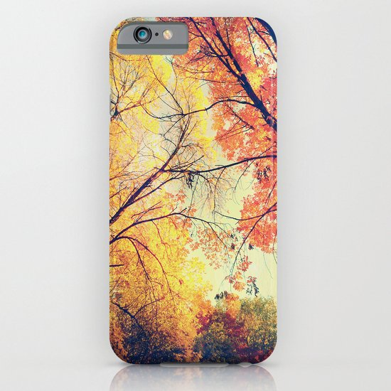 Autumn Embrace iPhone & iPod Case