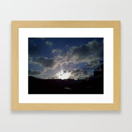 What a great day! Framed Art Print