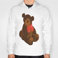 teddy bear Hoodies featuring teddy bear by ArtSchool