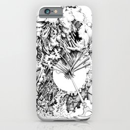 interval of utter iPhone Case