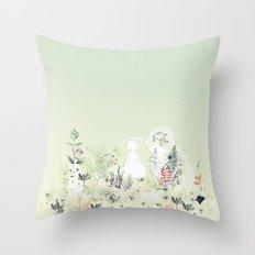 lady mistick Throw Pillow
