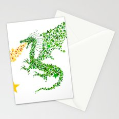 Starry Dragon Stationery Cards