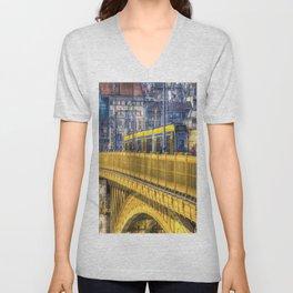 Margaret Bridge Budapest Unisex V-Neck