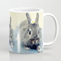 bunny Mugs featuring Bunny by Falko Follert Art-FF77