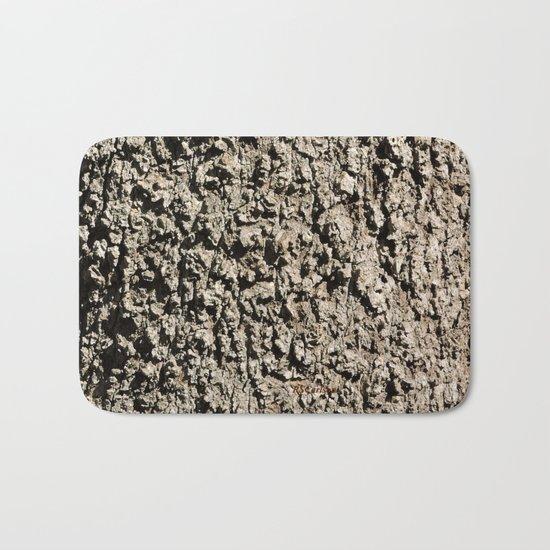 TEXTURES -- Western Sycamore Bark Bath Mat