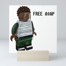 Free A$AP Mini Art Print