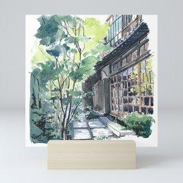 Shaded Alley Mini Art Print