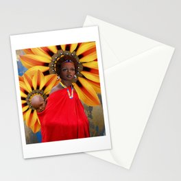 African Mother Stationery Cards