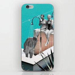 Crazy Water iPhone Skin