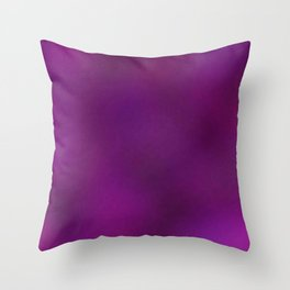 Color gradient and texture 80 purple Throw Pillow