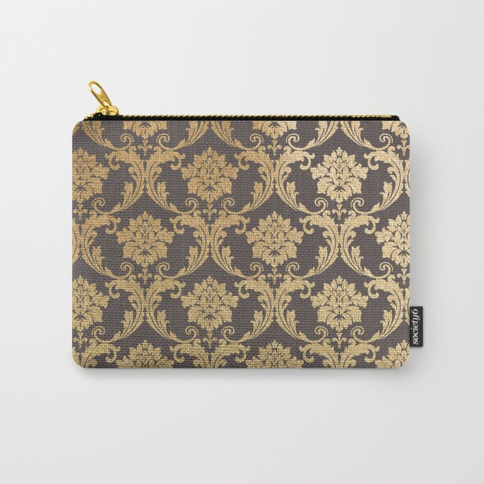 Gold swirls #3 Carry-All Pouch