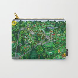 Camp Downer Map Carry-All Pouch
