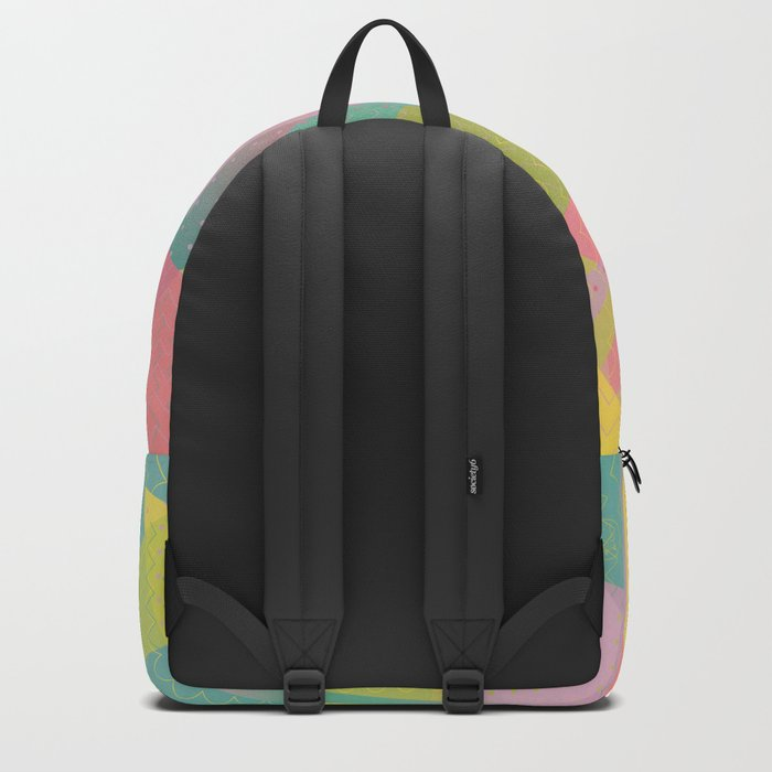 Abstract Geometric Pattern - Sugar Crush Backpack
