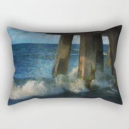 Beneath the Pier Rectangular Pillow