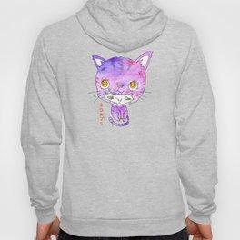 Wearing a Cat Hoody