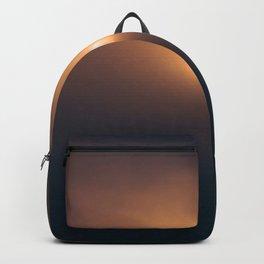 Sunset Ocean Bird in Ireland Backpack