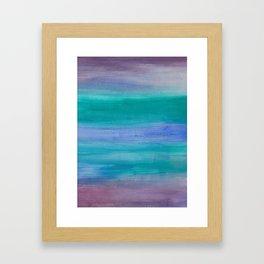 Ocean Mermaid Series 2 Framed Art Print