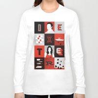 dexter Long Sleeve T-shirts featuring Dexter by Bill Pyle