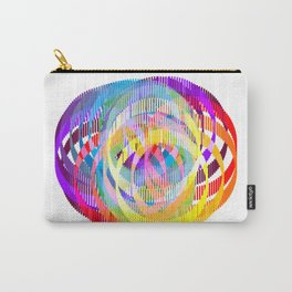 Rainbow Ribbons Carry-All Pouch